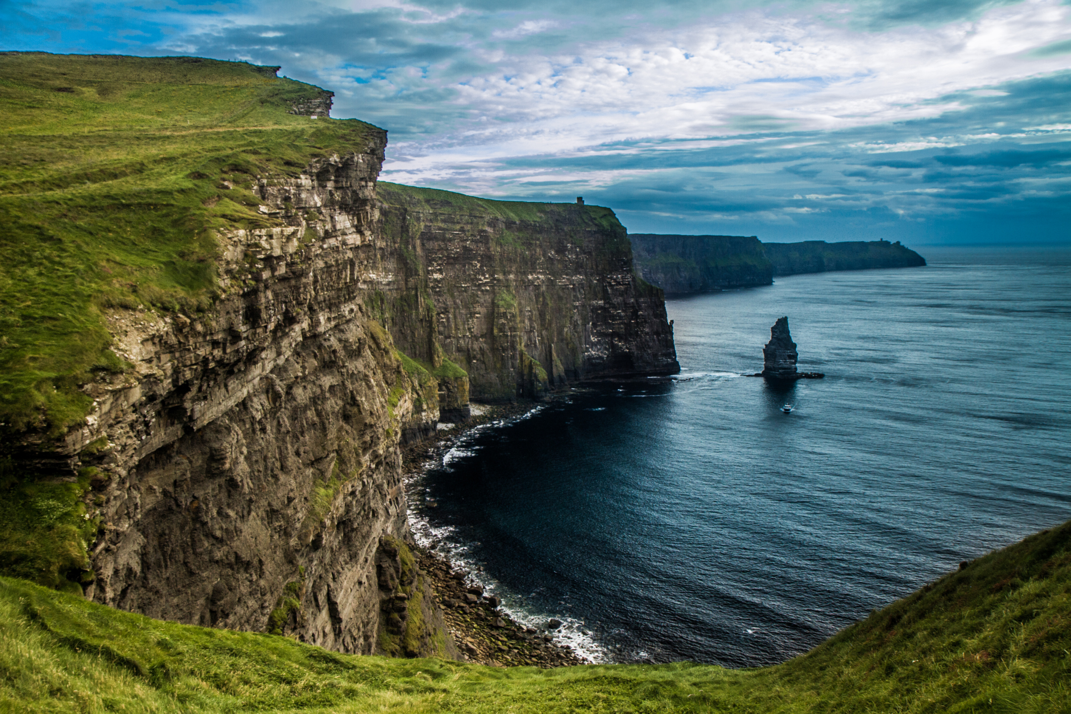 Falésias pelo mundo - Moher, Irlanda