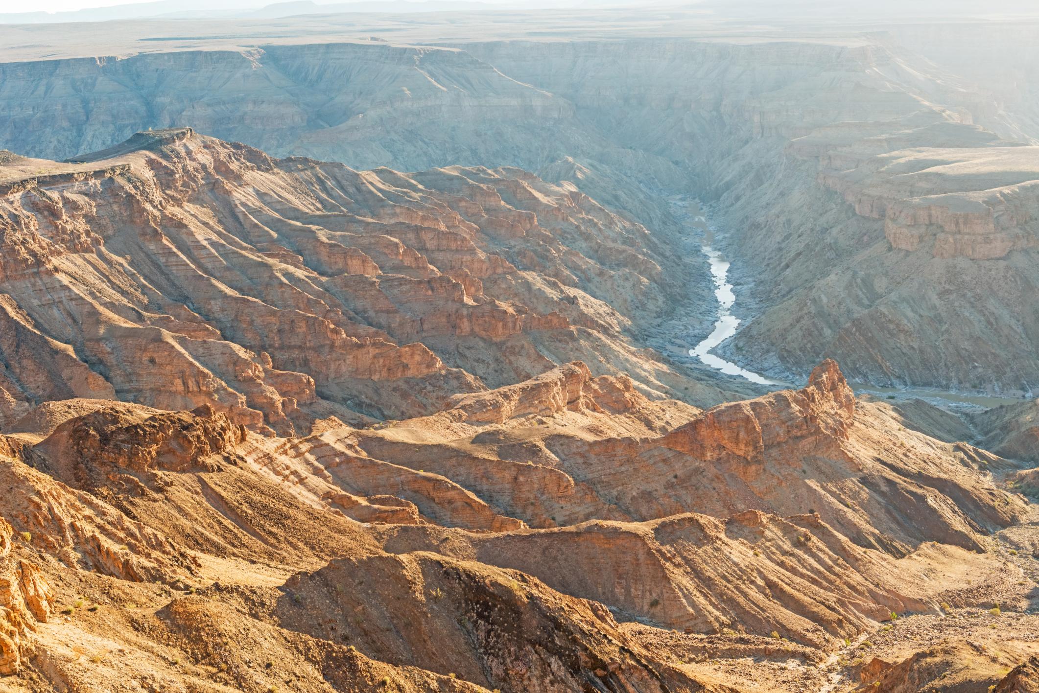 Fish River Canyon, no sul da Namíbia