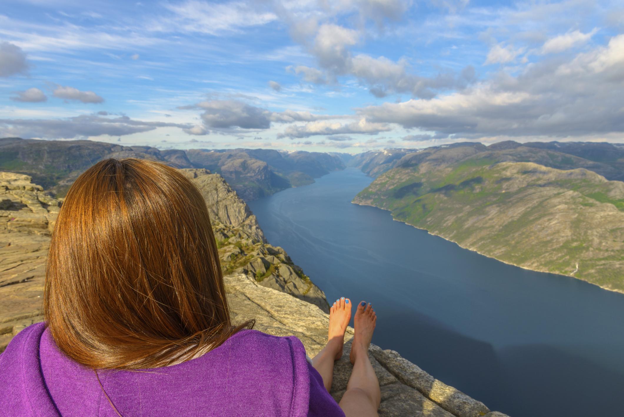 Falésias pelo mundo - Preikestolen (Pulpit Rock), Noruega