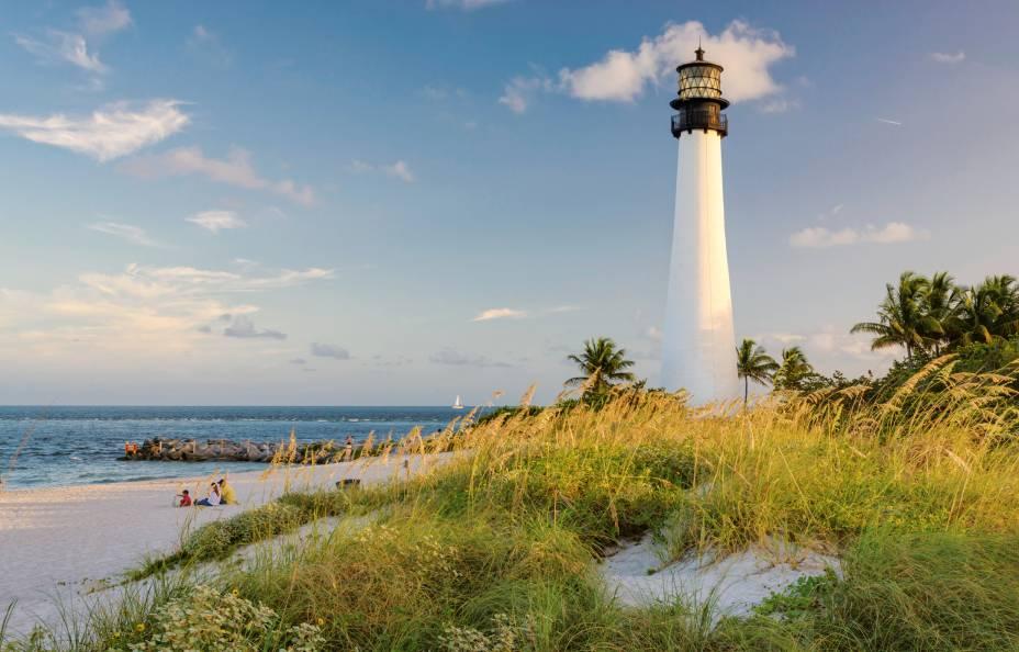 <strong>6. Cape Florida State Park, Key Biscayne, Flórida</strong>O mar tranquilo de Cape Florida deixa a praia ideal para nado e banho
