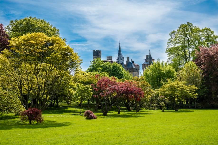 Com seus lindos parques e jardins, Cardiff é considerada uma das cidades mais verdes do Reino Unido. No Bute Park, essa fama fica ainda mais nítida: são diversas espécies de árvores, plantas e flores espalhadas em uma área de 56 hectares
