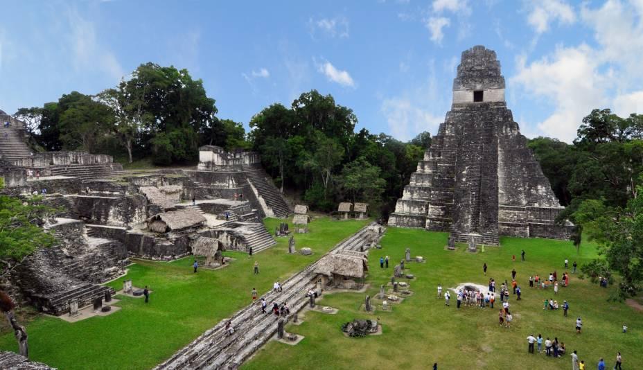 """O <a href=""""http://viajeaqui.abril.com.br/estabelecimentos/guatemala-cidade-da-guatemala-atracao-parque-nacional-tikal"""" rel=""""Parque Nacional do Tikal"""" target=""""_blank"""">Parque Nacional do Tikal</a>, no norte da <a href=""""http://viajeaqui.abril.com.br/paises/guatemala"""" rel=""""Guatemala"""" target=""""_blank"""">Guatemala</a>, é umdas mais importantes cidades da civilização maia"""