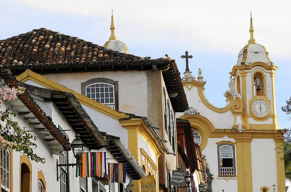A arquitetura colonial, os detalhes charmosos nadecoração e as generosas janelas com vista parao casario marcam a maioria das hospedagens deTiradentes