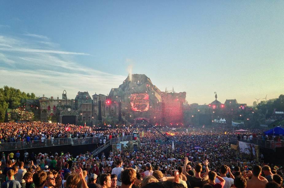 A Bélgica é o país onde nasceu a Tomorrowland, o maior festival de música eletrônica do mundo