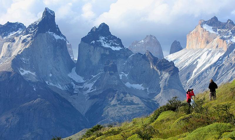 """Os """"cuernos"""" de Torres del Paine"""