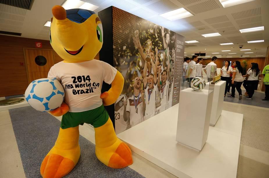 Desde a inauguração do Tour Maracanã, em outubro de 2013, cerca de 300 mil pessoas já fizeram o passeio