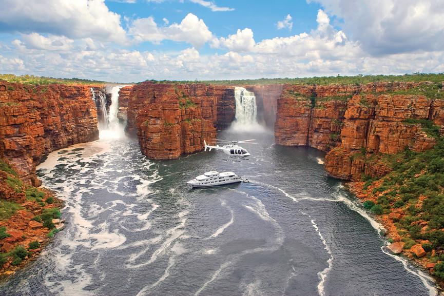 A True North Cruises organiza passeios na região de Kimberley, a mais setentrional da Austrália Ocidental