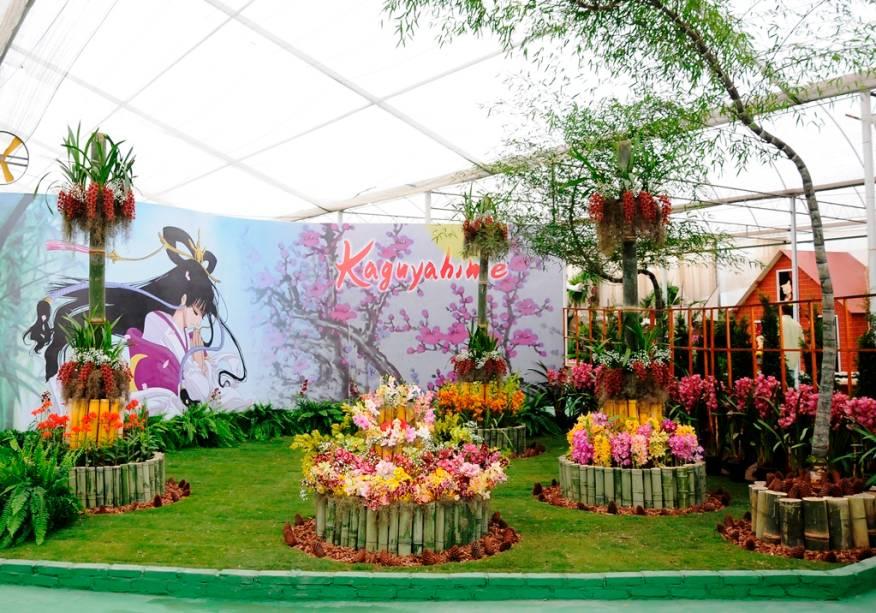 Exposição de flores na Aflord 2013