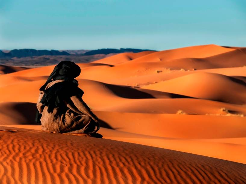 Tuaregue e o Saara