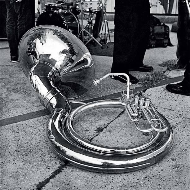 Tuba da Tremé Brass Band