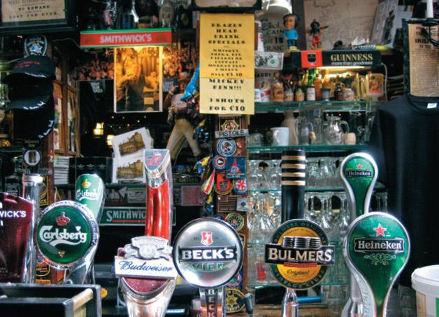 Fundado em 1198, The Brazen Head é o pub mais tradicional de Dublin
