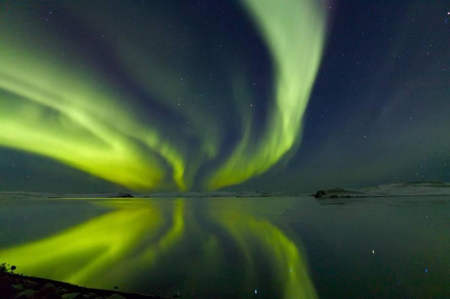 Aurora Boreal em Utigonguhofdi