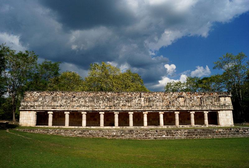 Uxmal exibe um dos exemplos mais extraordinários de arquitetura maia, conhecida como estilo Puuc. É Patrimônio Mundial pela Unesco