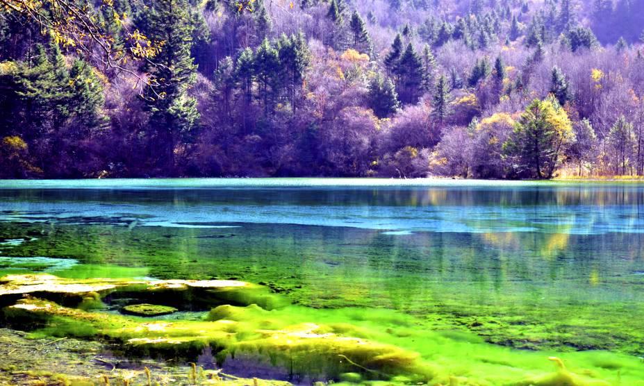 """<strong>18. Vale Jiuzhaigou, <a href=""""http://viajeaqui.abril.com.br/paises/china"""" rel=""""China"""" target=""""_self"""">China</a></strong>            Águas cristalinas, espécies variadas de árvores e montanhas de 4.800 metros são apenas algumas das belezas que marcam o lugar, tombado como Patrimônio Mundial da Humanidade pela UNESCO. Além disso, é possível observar as quedas das cachoeiras e se aventurar pelos caminhos que escondem pássaros e alguns animais em extinção. A história conta que a área de 72 mil hectares foi ocupada durante séculos pelos povos tibetanos e qiangs, antes de se tornar um parque público."""