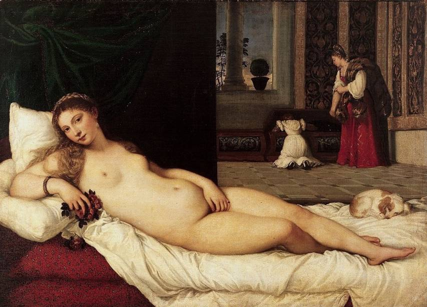 <em>Vênus de Urbino</em>, de Ticiano