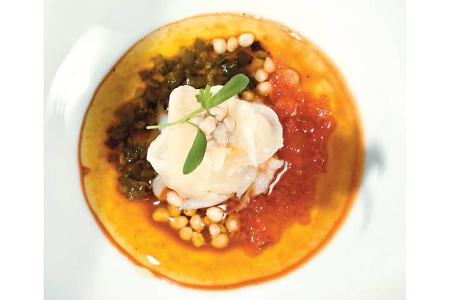 Ceviche de lagosta da chef Roberta Sudbrack