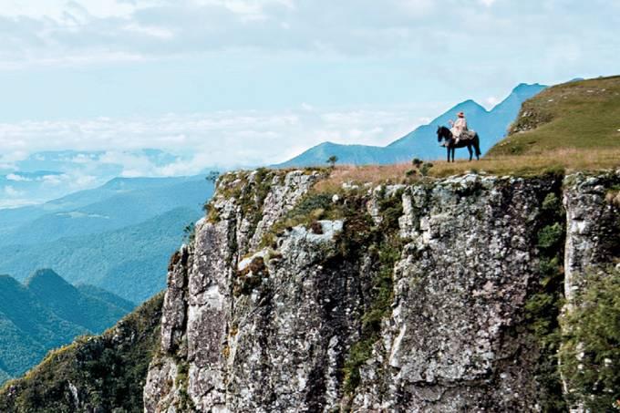 Cânion do Monte Negro, em São José dos Ausentes, Rio Grande do Sul
