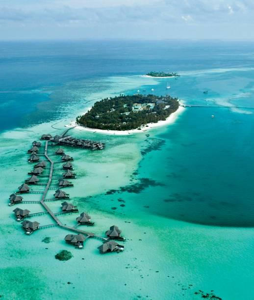 Resort Le Méridien, em Bora Bora