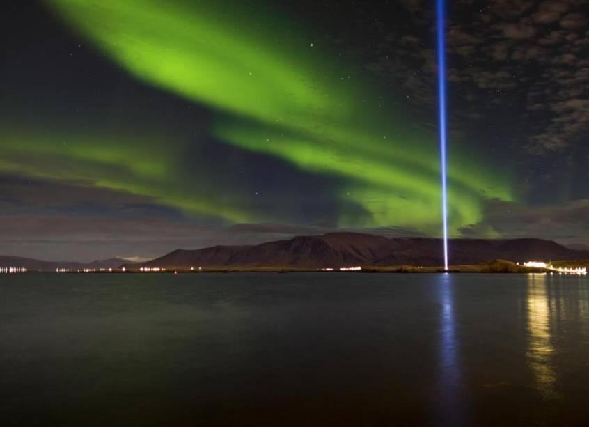 Ilha de Videy, na baía de Kollafjörður