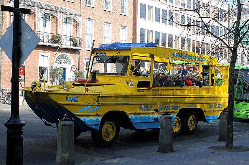 Viking Splash Tour caminhão, Dublin