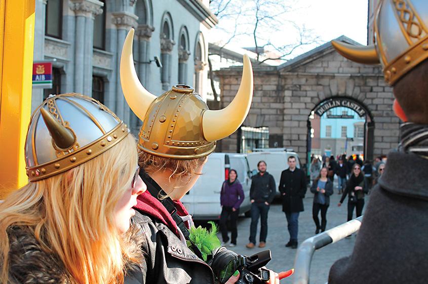 Viking Splash Tour Castelo de Dublin