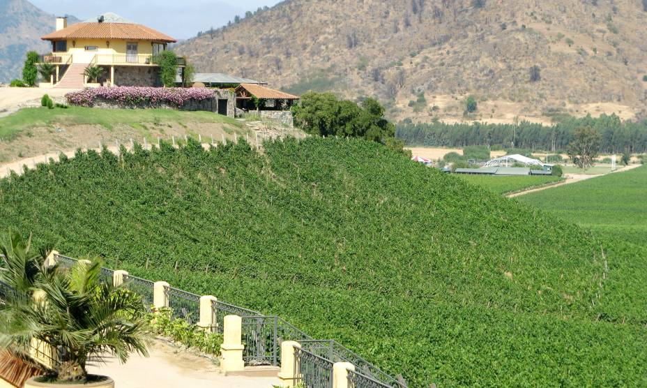 """<strong><a href=""""http://www.vinasantacruz.cl/"""" rel=""""13. Viña Santa Cruz"""" target=""""_blank"""">13. Viña Santa Cruz</a> (Vale do Lolol, <a href=""""http://viajeaqui.abril.com.br/paises/chile"""" rel=""""Chile"""" target=""""_self"""">Chile</a>) </strong>    Com processos iniciados em 2011, essa vinícola se destaca pelo diferencial do passeio de teleférico, com vista panorâmica para os lindos parreirais. Depois, os visitantes percorrem a vinícola a pé com um guia para conhecer todo o processo do local e degustar dos bons rótulos de Cabernet Sauvignon, Syrah, Rosé e Sauvignon Blanc."""