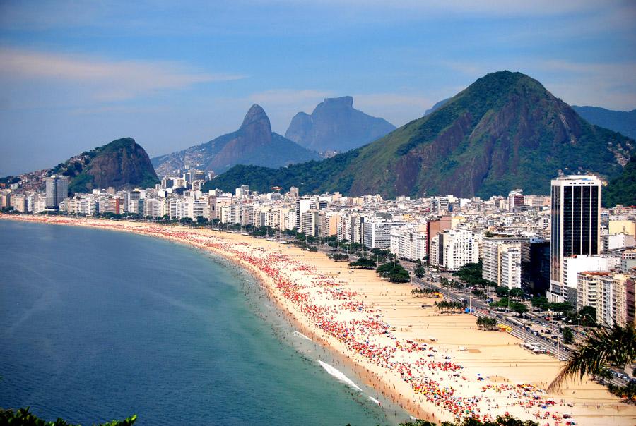 Vista do Forte de Duque de Caxias, no Rio de Janeiro