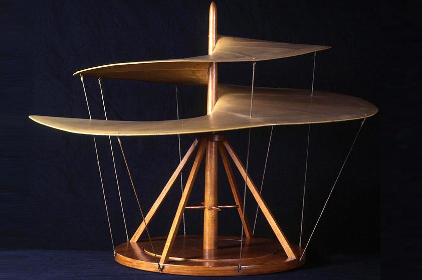 Museu Nacional da Ciência e Tecnologia Leonardo da Vinci em Milão, Itália