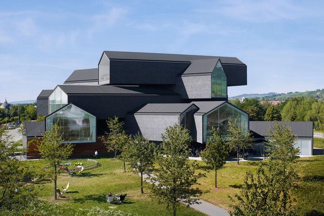 3. Um dos prédios do Vitra Campus, que fica na Alemanha