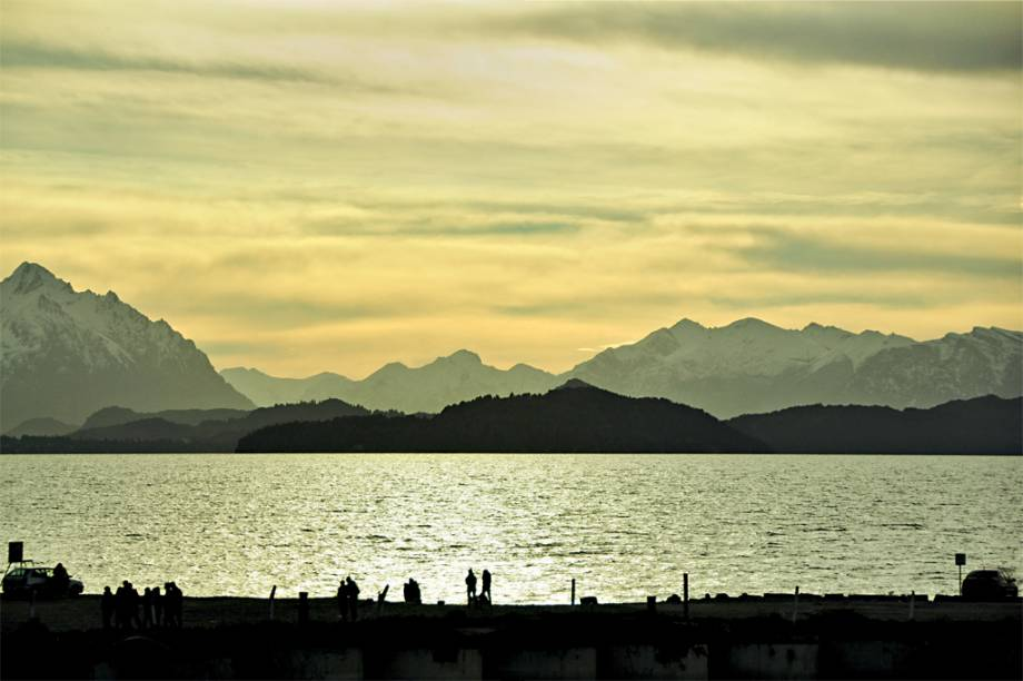 O Lago Nahuel Huapi, o mar interior de Bariloche