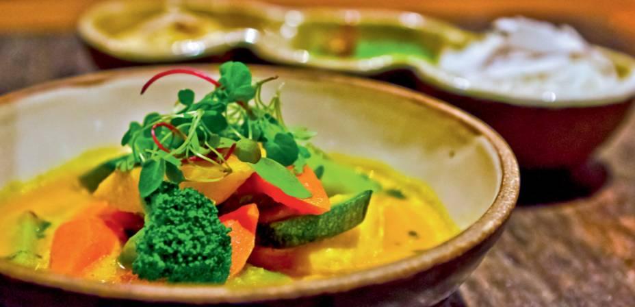 Moqueca de legumes do Brasil a Gosto