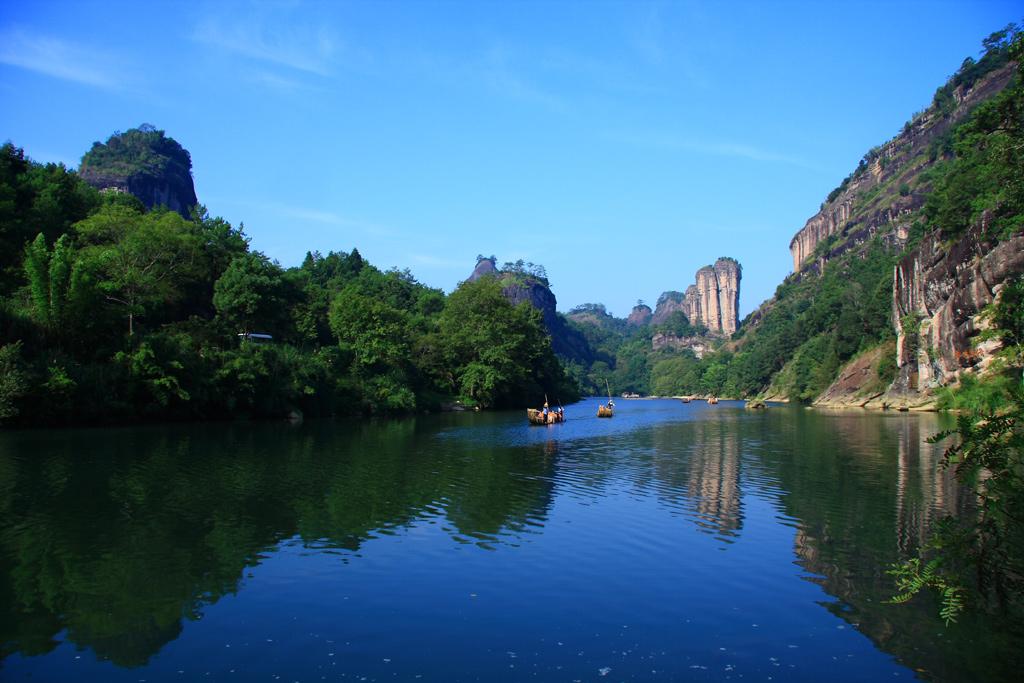 Montanhas Wuyi, província de Fujiang