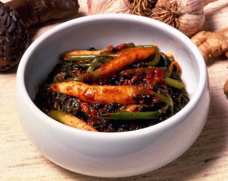 Yeolmoo Kimchi, prato típico coreano
