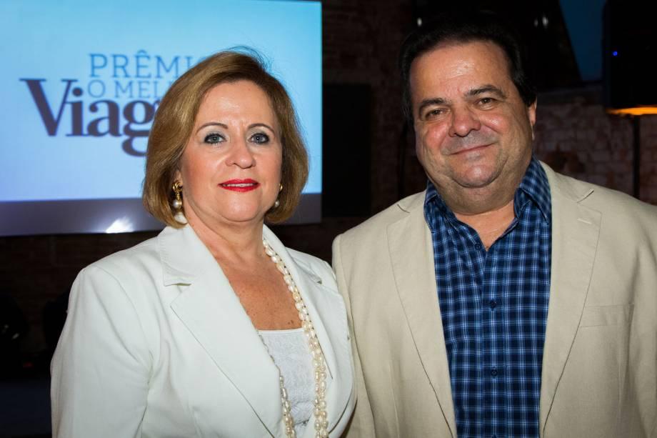 Zena Becker, Secretária de Turismo de Florianópolis e Elson Campos