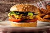 Hambúrguer do restaurante Bill's Burger, Nova York, Estados Unidos