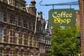 Coffee Shop em Amsterdã