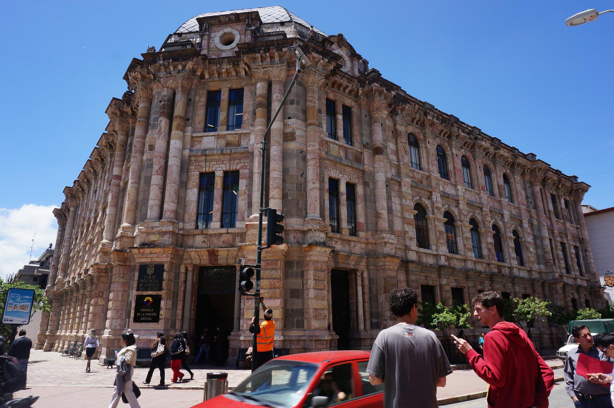 Prédio colonial de Cuenca, no Equador