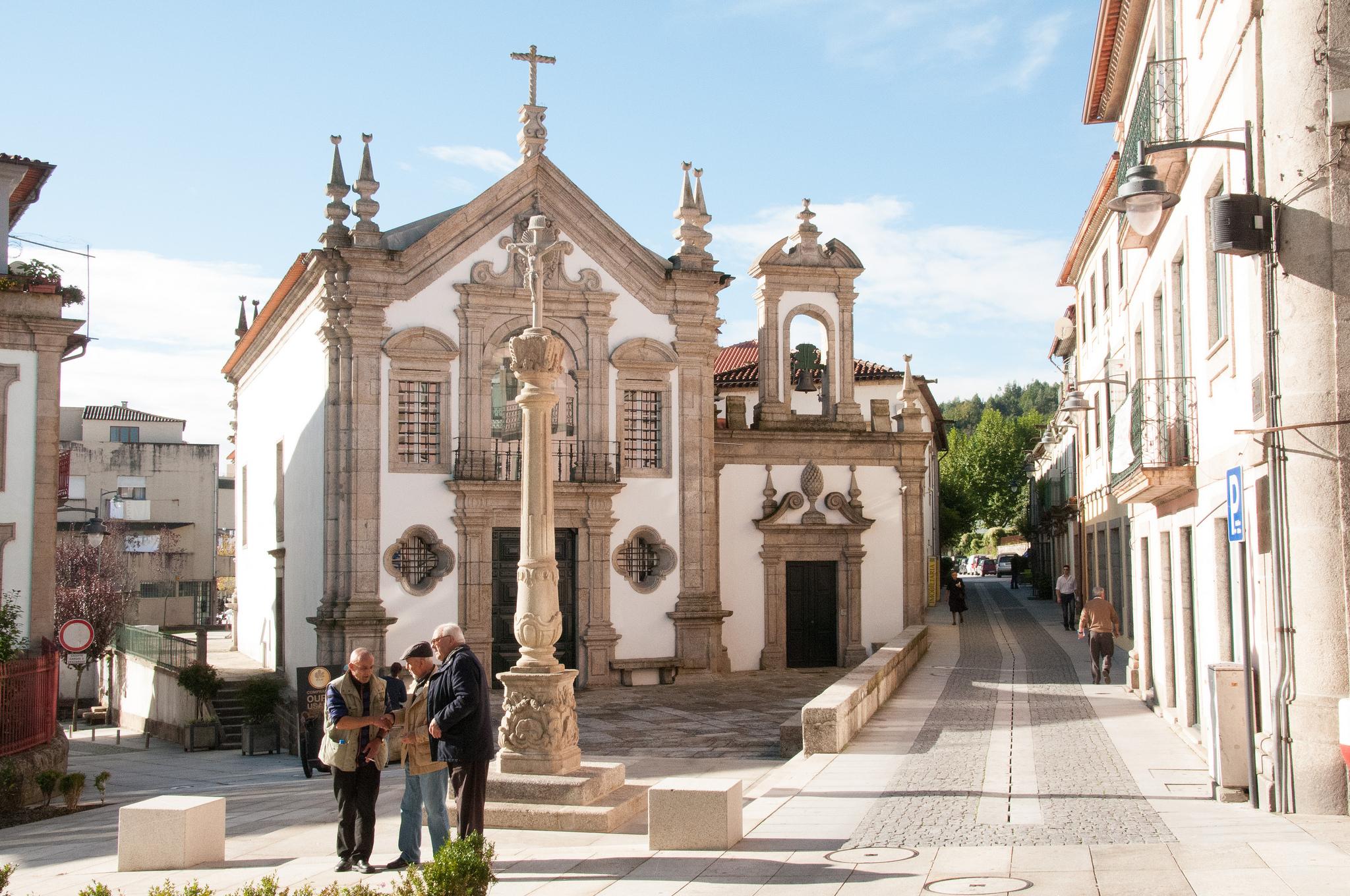 Vila de Arcos de Valdevez, em Portugal