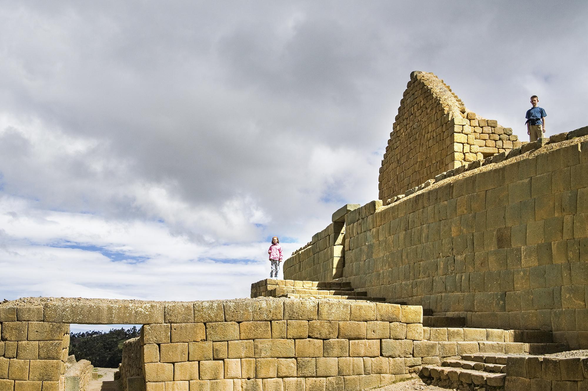 O Templo do Sol, em Ingapirca