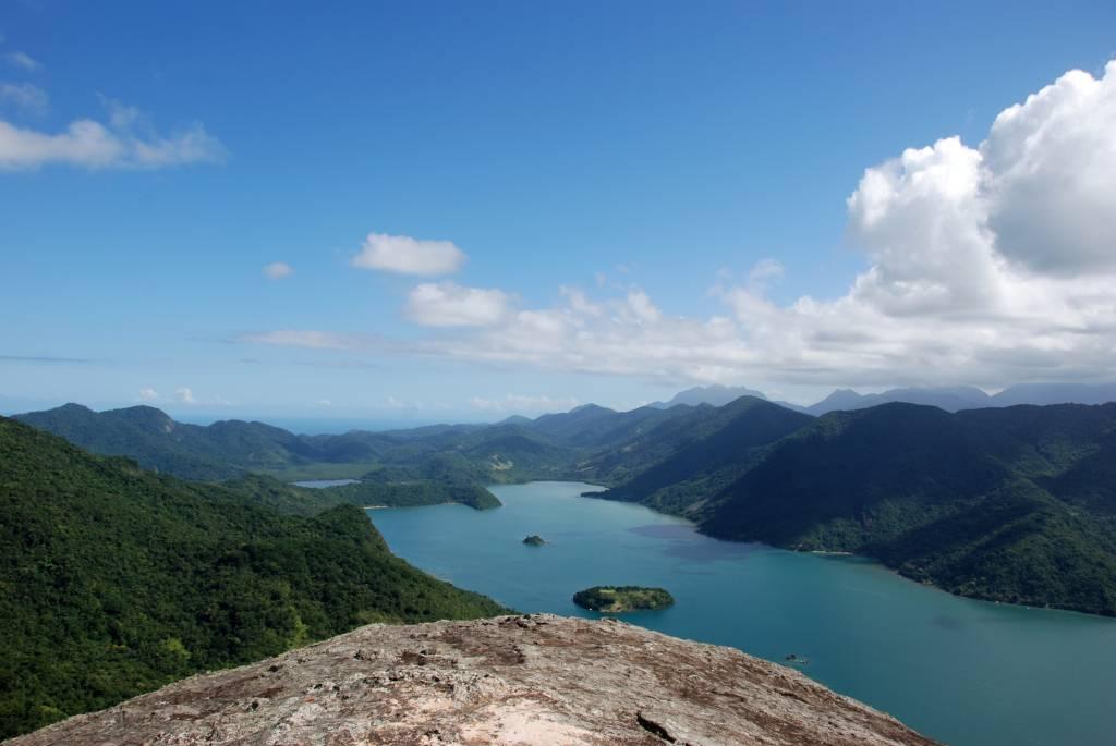 Vista do Saco do Mamanguá, em Paraty.