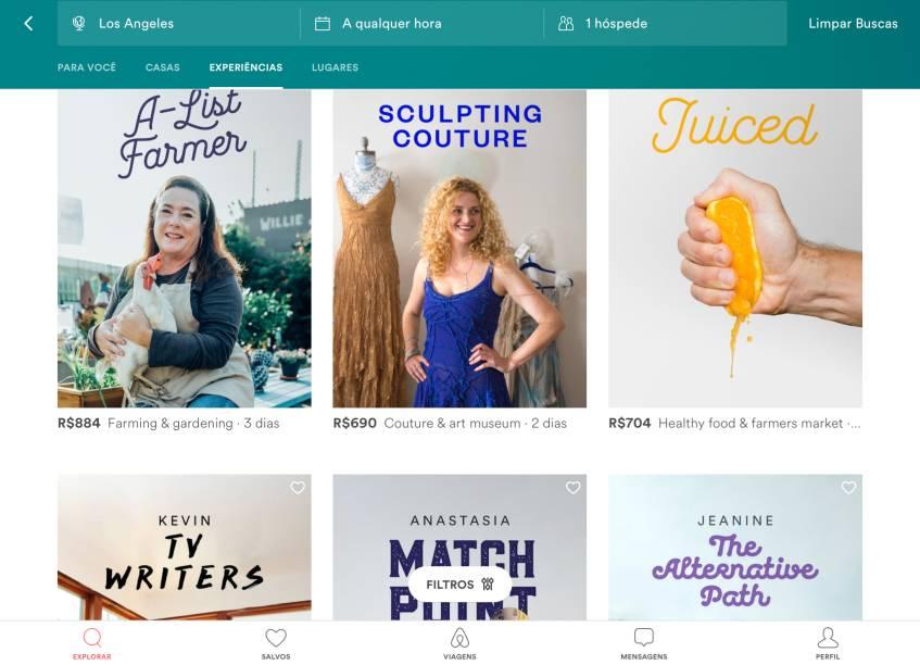 Experiências que você pode contratar junto com aacomodação noAirbnb
