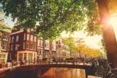 Amsterdã, na Holanda, é uma delas