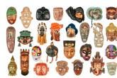 Coleção de máscaras da advogada carioca Ila Sant'Anna