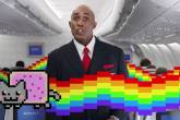 Vídeo segurança voo Delta Airlines memes