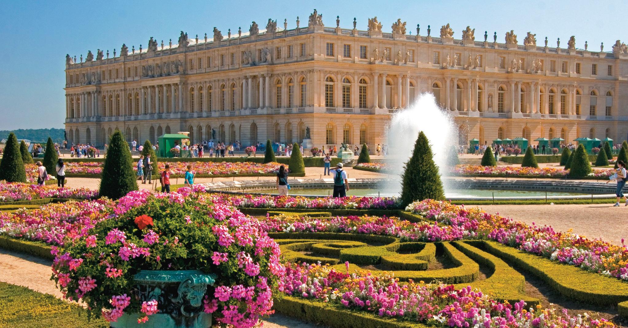 O Palácio de Versalhes, um bate e volta clássico de quem visita Paris