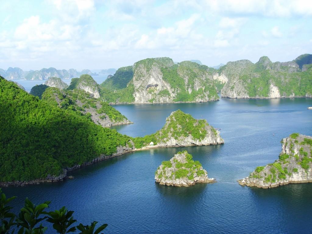 a belezura enlouquecedora de Halong Bay