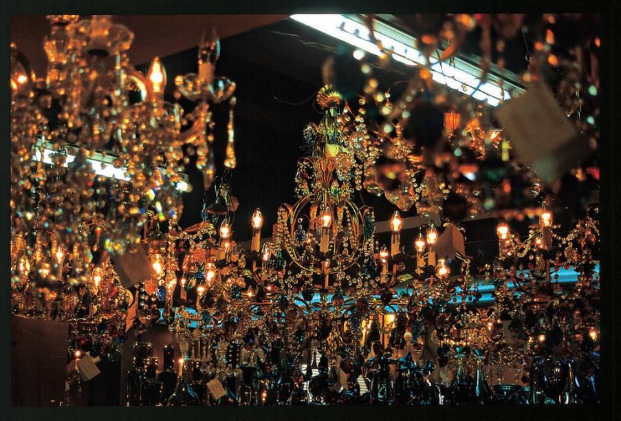 Lustres de Murano, da Ilha de Burano