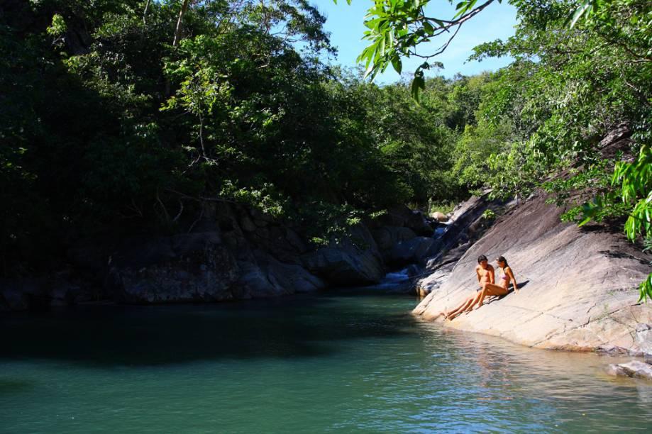 Além de histórica, a cidade de Goiás tem, em seus arredores, rios e cachoeiras que atraem os visitantes quando o calor aperta - o que não é raro