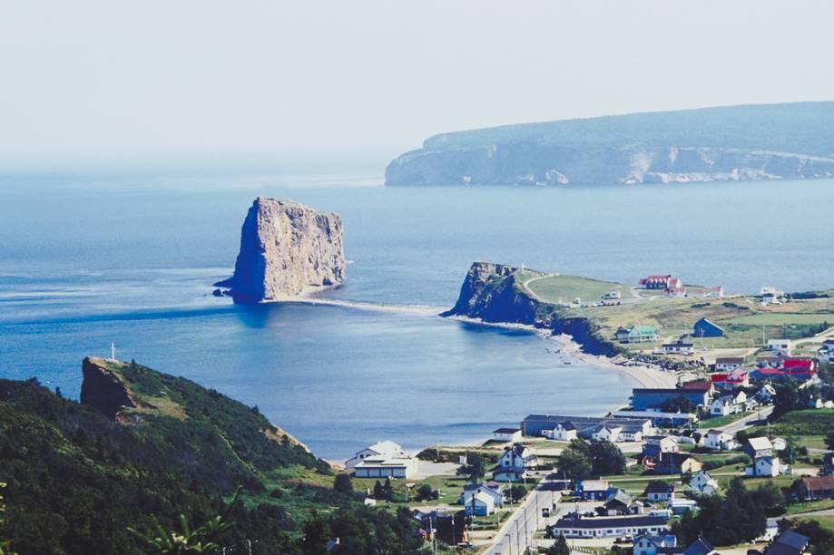 Ilha Bonaventure, a apenas três quilômetros da cidade de Percé, em Quebec
