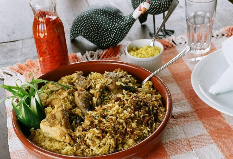 """Arroz com Capote, comida tradicional de <a href=""""http://viajeaqui.abril.com.br/cidades/br-pi-teresina"""" rel=""""Teresina"""" target=""""_blank"""">Teresina</a>, Piauí"""